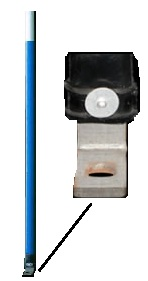 Slimline Fire Hydrant Marker